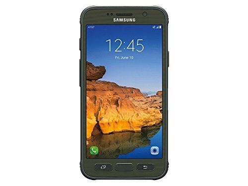 Samsung Galaxy S7 Active G891A 32GB Unlocked GSM Shatter,Dust and Water Resistant Smartphone w/ 12MP Camera - Camo Green
