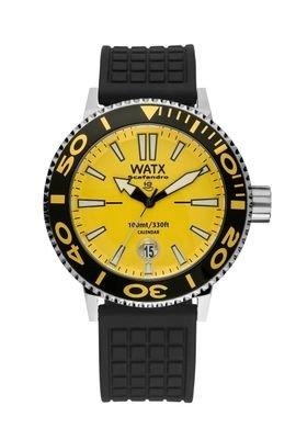 Watx scafandro Reloj para Hombre Analógico de Cuarzo con Brazalete de Goma RWA0302: Amazon.es: Relojes
