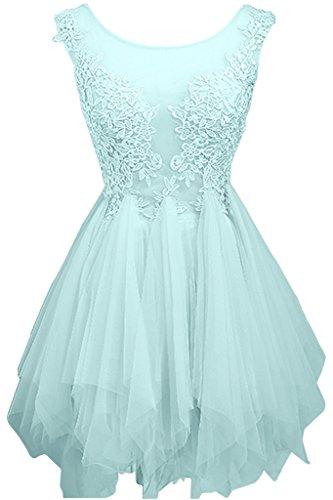 Partykleider Blau Mini Cocktailkleider Hundkragen Kurz Abendkleider La Mini Minze Marie Linie Royal Gruen A Braut Spitze 8ItvngY