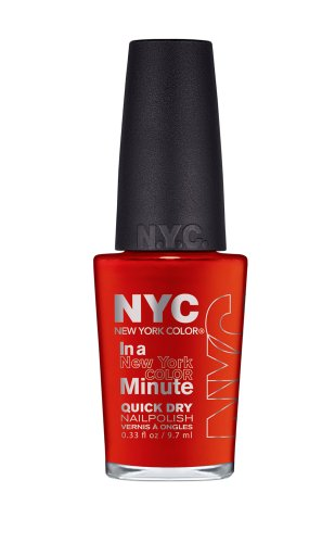 New York Color In A New York Color Minute Quick Dry Nail Polish, Spring Street, 0.33 Fluid - Nyc Spring Street