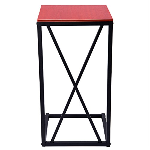 home, kitchen, furniture, living room furniture, tables,  coffee tables 12 on sale MaidMAX Snack Table, 25-Inch-High C-Shaped deals