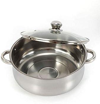 olla Mantowarka de acero inoxidable MINUS ONE opcional 26//28//30 cm Cocina al vapor de 5 pisos tapa de cristal olla al vapor