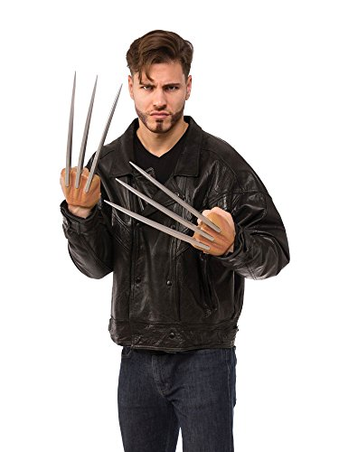 Rubie's Costume Co Men's X Classic Better Wolverine Claws, Multi, One Size -