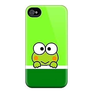 RandileeStewart Apple Iphone 4/4s Excellent Hard Phone Cases Support Personal Customs HD Keroppi Image [DeB2132EkdE]