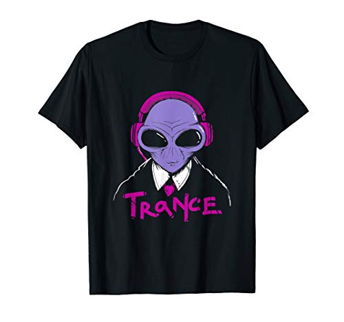 (DJ Headphones, Disco, Party T-shirt | Trance Music Tee)