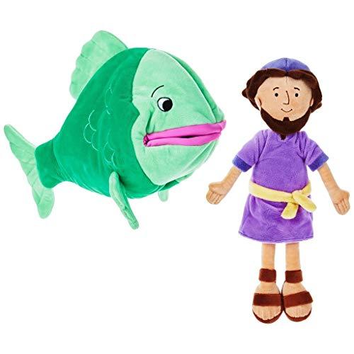 HMK Hallmark Jonah and The Big Fish Stuffed Doll Set from HMK