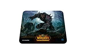SteelSeries QcK World of Warcraft Cataclysm Gaming Mouse Pad-Worgen Edition