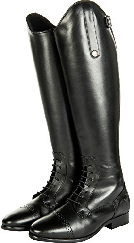 Valencia Standard Stivali Hkm da Waterproof Woman Uomo neri Teddy For Riding equitazione x0ISq