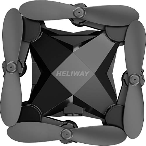 (Hongxin--New HELIWAY 901HS Mini RC Helicopter Drone for Kids Or Beginner Quadcopter)