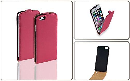 Yayago Étui à rabat en cuir pour Apple iPhone 6 / iPhone 6s, Couleur rose