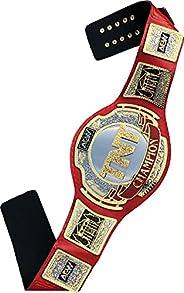 "AEW TNT Championship Title Replica Belt, Gold Plated, Adult Size, Orange, Black, Gold, 52"" Strap L"