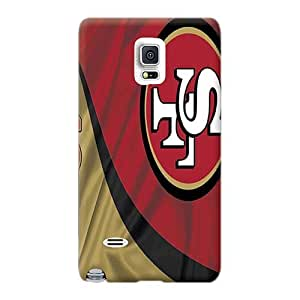 Samsung Galaxy Note 4 Zoo2879lvGg Support Personal Customs Lifelike San Francisco 49ers Image Great Hard Cell-phone Case -WayneSnook