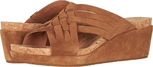 UGG Women's Lilah Wedge Sandal Chestnut 7 M US