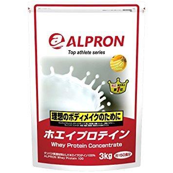 【2袋セット】WPCホエイプロテイン バナナ風味 3kg アルプロン B079YHWJWT