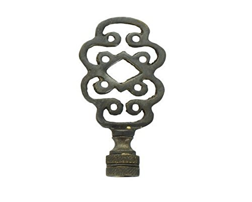 Upgradelights Vintage Art Deco Life Knot Symbol Lamp Finial (Oil Rubbed Bronze)