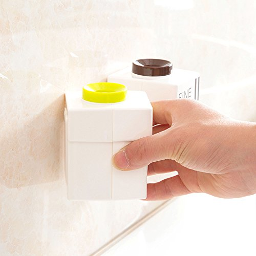 Amazon.com: System Collections Generic Queue System String Bathroom Storage & Organisation - Bx-421 Wall Mounted Adhensive Toothpaste Squeezer Distributor ...