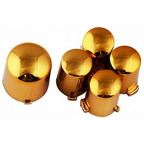 (ModFreakz™ ABXY/Guide Button Kit Chrome Gold For Xbox 360 Controller)