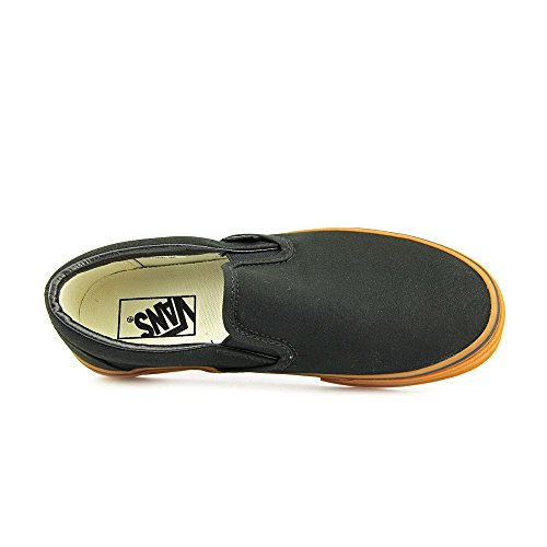 Vans Classic Slip-On Womens Size 6 Black Canvas Sneakers Shoes