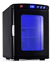 Happybuy Reptile Incubator 23L ReptiPro 6000 Digital Egg Incubator Scientific Lab Incubator Cooling and Heating 5-60°C 12V/110V Work for Small Reptiles(Black)