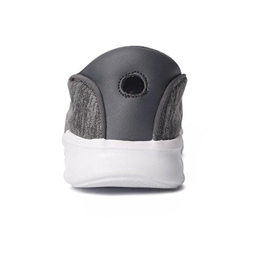 Walking Lightweight Sneakers Shoes Women Lezp Performance nbsp;Shoe Grey Dark On nbsp;Comfortable for Slip 0qapAS