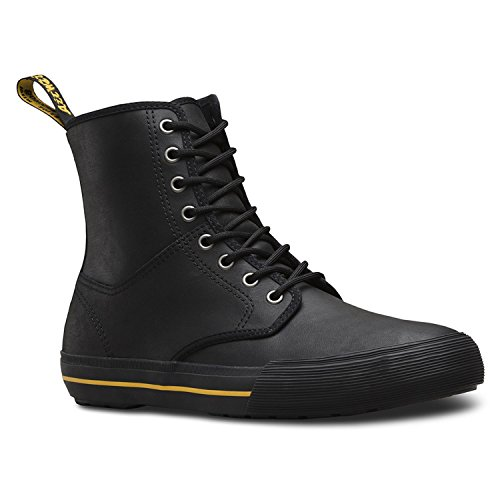 - Dr.Martens Winsted 22421001 Greasy Lamper Leather Unisex Boots - Black - 5 UK