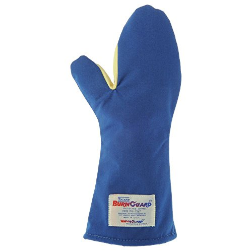 "Tucker Safety Products 06150 Burnguard Oven Mitt Conventional Style, 15"" Long"
