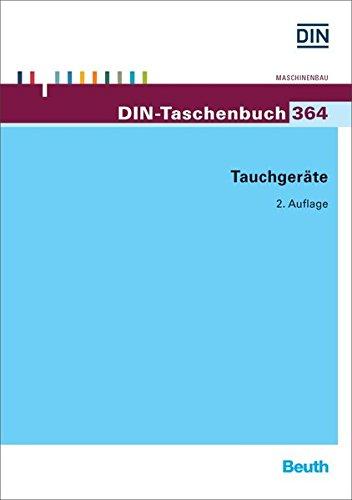 Tauchgeräte (DIN-Taschenbuch)