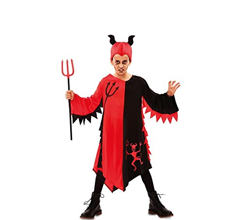 Disfraz de Demonio Rojo y Negro para niños: Amazon.es: Juguetes y ...
