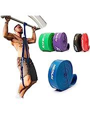 ActiveVikings® pull-up fitnessbanden | perfect voor spieropbouw en Crossfit Freeletics Calisthenics | fitnessband optrekbanden weerstandsbanden