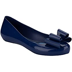 Zaxy Women's Zaxy Pop Bow Shoes UK 5 Blue