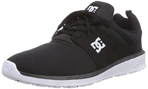 DC Shoes, HEATHROW M SHOE - Zapatillas para hombre, Negro (black/white bkw),...