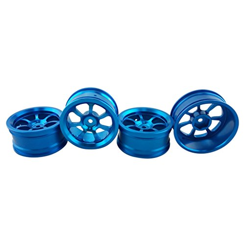 MonkeyJack 4pcs Alloy Rim Wheel Hub Spare Parts For 1/18 Wltoys A959-B A979B A959 A969 -  817525ea9fa06ef9972e6e4152a98668