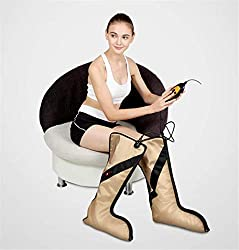 Far Infrared Electric Heating Leg Massager - Foot Calf and Arm Massage Therapy Wraps for Muscle Pain - Improve Blood Circulation - Leg Wraps for Foot Circulation Device,3 Intensities and 3 Modes