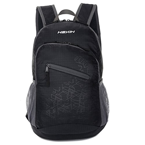 HEXIN Lightweight Foldable Backpack Daypack