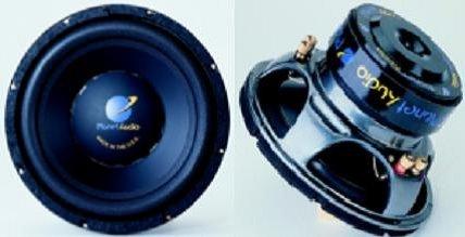Planet Audio P10DVC, 10' (25cm) Dual Subwoofer, Pro Series, 300W RMS, 400W...