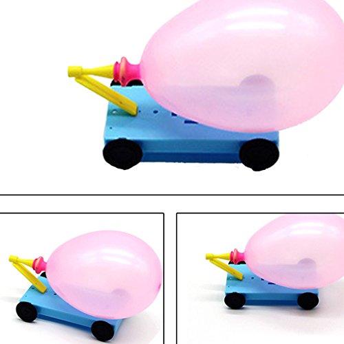 JAGENIE DIYクリエイティブ・フィジックス・サイエンス・エクスペリメントリコイル・カー教育用おもちゃギフトクリスマス・ギフト用ギフト、1個、ランダム・デリバリー