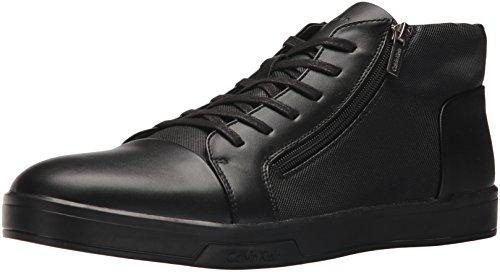 Calvin Klein Men's Bozeman Sneaker, Black, 9.5 M US