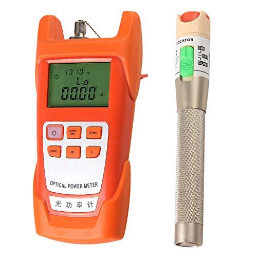 SM SunniMix AUA-9C -70dBm~+10dBm 850~1625nm Optical Power Meter Tester FC SC Handheld Optical Power Meter + with 30mW Visual Fault Locator Pen by SM SunniMix (Image #8)