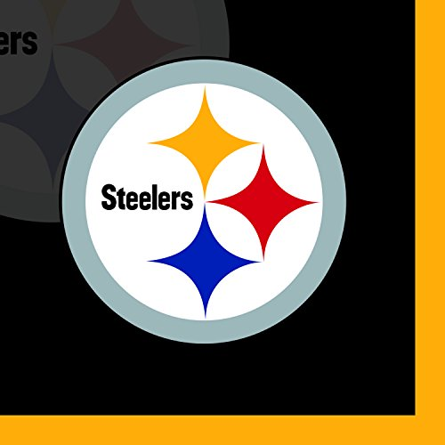 Creative Converting 16 Count Pittsburgh Steelers Beverage