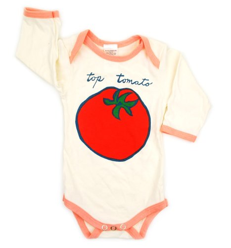 Green Babies Top Tomato Snappy