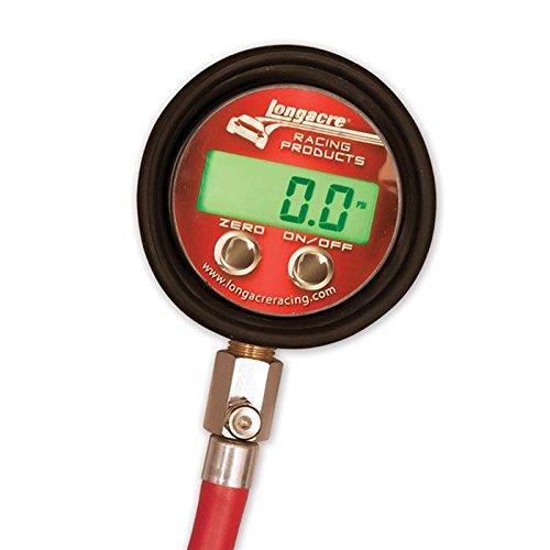 LONGACRE 2-1/2 in Digital 0-125 psi Pro Digital Tire Pressure Gauge P/N 53028 by Longacre (Image #2)