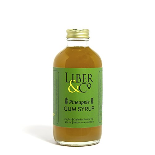 Liber & Co. Pineapple Gum Syrup (8.5oz)