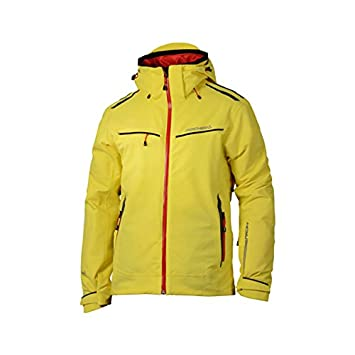c68831ea49219 Fischer Hans Knauss Ski Jacket - yellow  Amazon.de  Sport   Freizeit