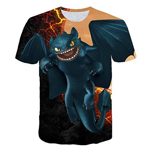 Fashion No 1 HTTYD Shirt Tshirt Cotton Merch Shirts Merchandise Clothing Sweethearts Men ()
