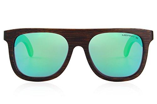 Homme Lunettes soleil de green MERRY'S 8qxwvf6Sq