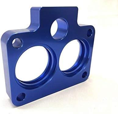 Blue Throttle Body Spacer Fits 94-03 Dodge Ram 1500 2500 3500 3.9L 5.2L 5.9L