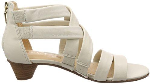 MENA 26132453 Sandale CLARKS Blanc Soie qEg7wn5R