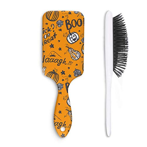 Hair Brushes Elf Pumpkin Halloween Games Hipster Brush]()