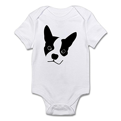 CafePress - Truman The Boston Terrier Body Suit - Cute Infant Bodysuit Baby Romper