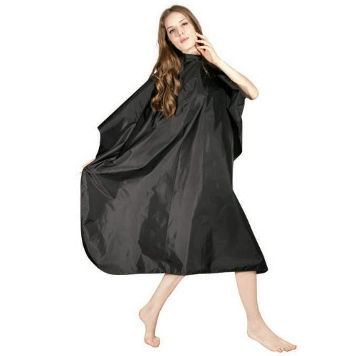 """Icarus Professional Nylon Hair Styling Salon Cape with Snaps, 57"""" x 50"""", Cutting Cape"""